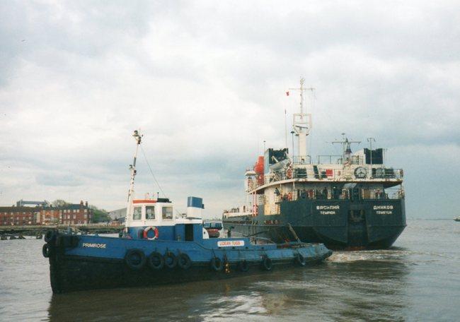 harbour tug PRIMROSE