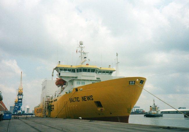 Cargo ship BALTIC  NEWS