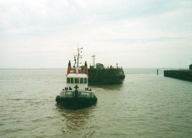 Tug AFON  WEN towing