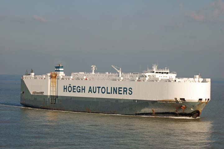 Image of the Hoegh trader Car carrier