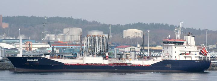 Mainland moored at Skarvikshamnen, Gothenburg