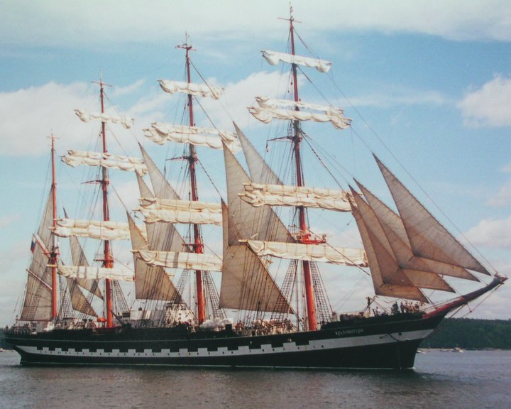 KRUZENSHTERN (ex Padua) at Halifax,N.S. 2000