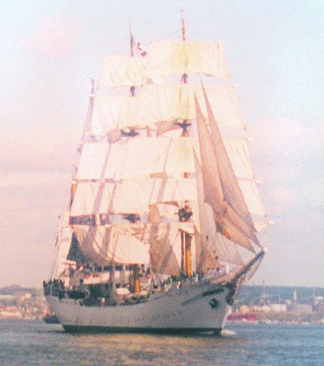 Gloria at TallShips 2000 ,Halifax,NS July 24th/00