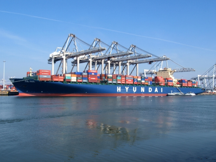Container ship Hyundai Loyalty