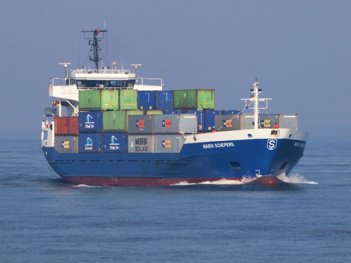 Container ship Maria Schepers