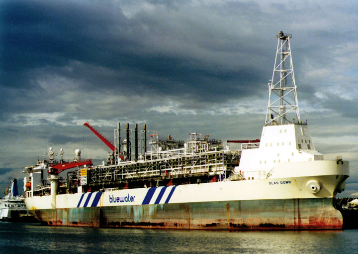 Bluewater's FPSO Glas Dowr in Newcastle UK