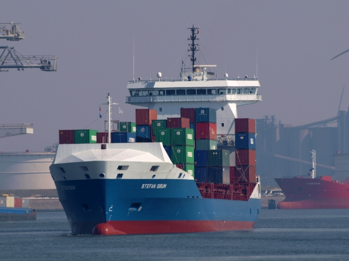 Container ship Stefan Sibum