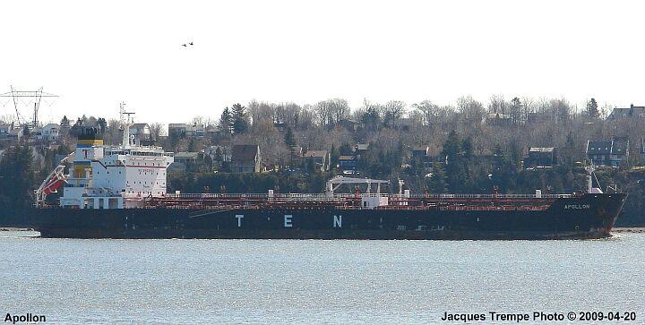 Photo of the Tanker Apollon
