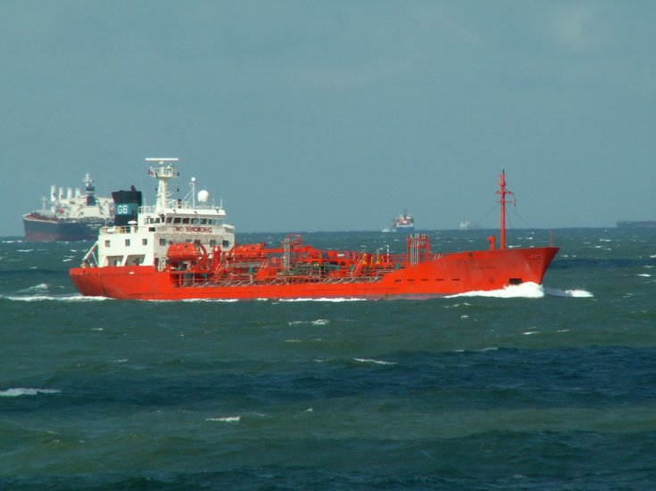 Photo of the tanker Dutch Pride