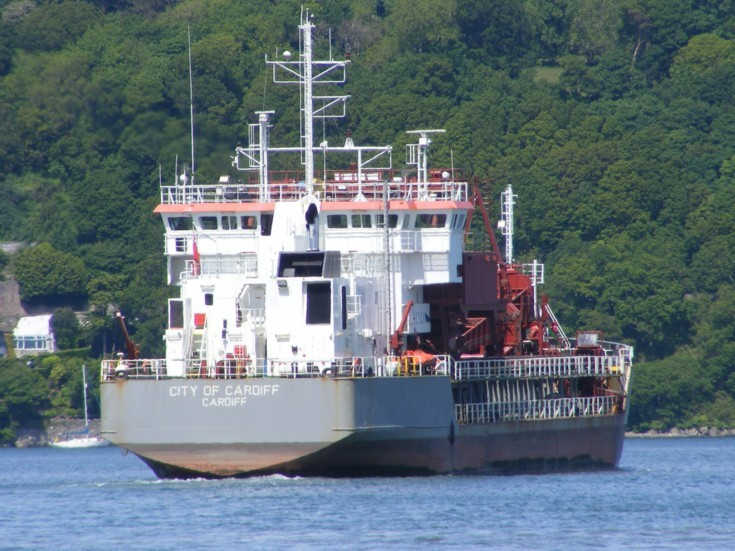 Dredger City of Cardiff (IMO 9141754)