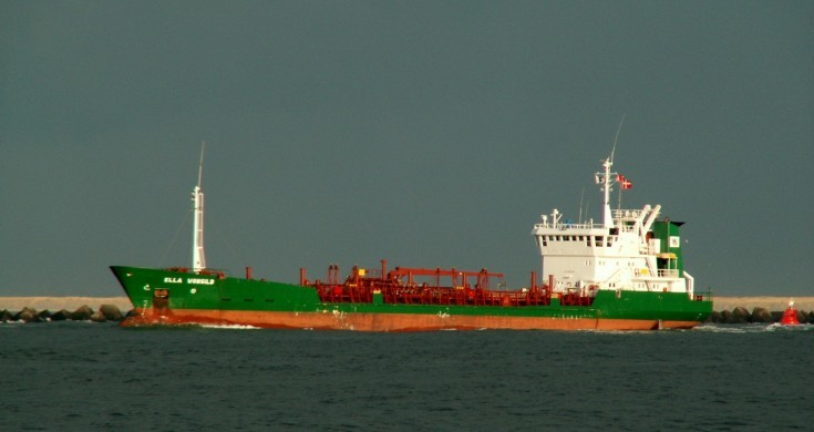 Chemical tanker Ella Wonsild