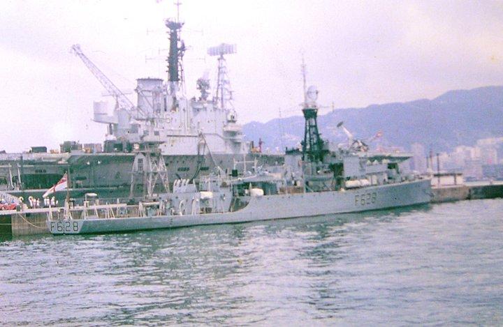 HMS  LochKillisport F628 at HongKong 1964