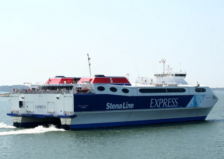 Stena Carisma  - next stop Frederikshavn