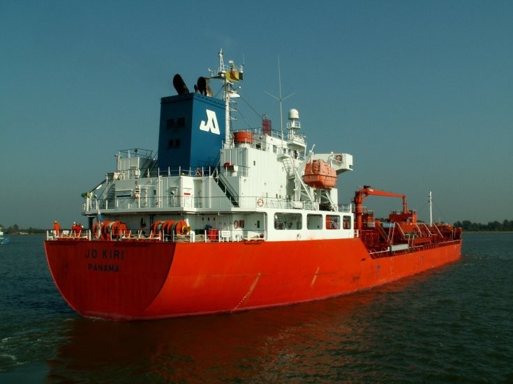 Jo Kiri at Port of Antwerp