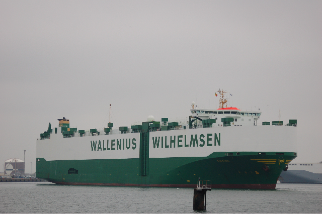 M/S Elektra  Pure Car Truck Carrier Terneuzen