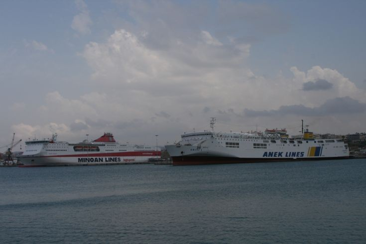 Heraklion Harbour.