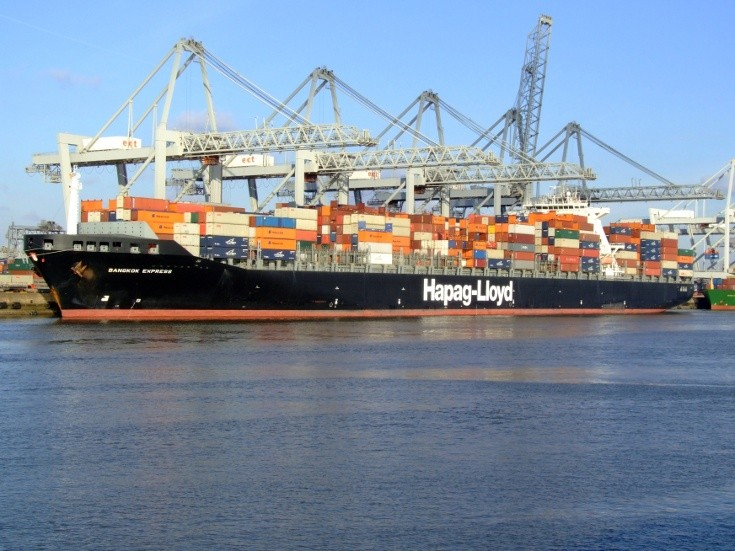 Hapag-Lloyds' Bangkok Express