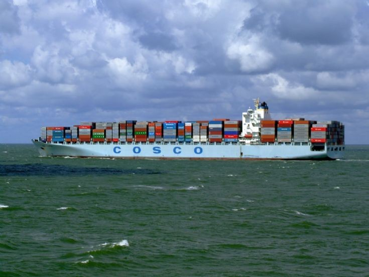 Container ship Cosco Seattle
