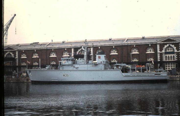 HMS DULVERTON.