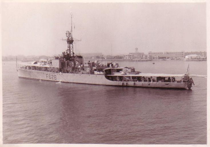 HMS Loch Killisport, 1958.