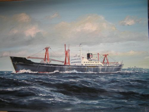 Painting of China Navigation Co's Kweilin