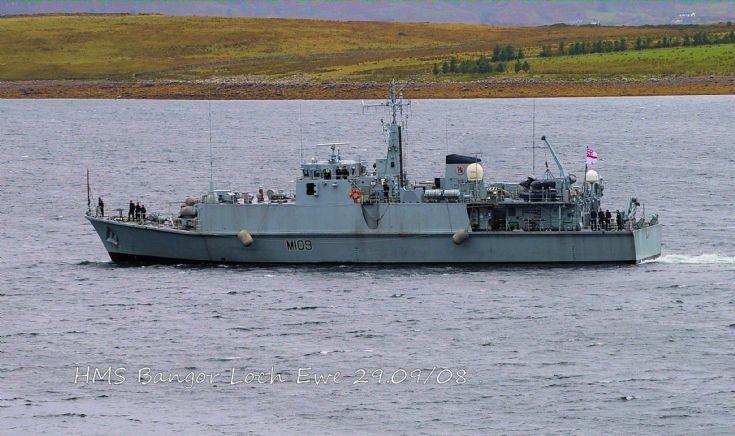 HMS Bangor M109