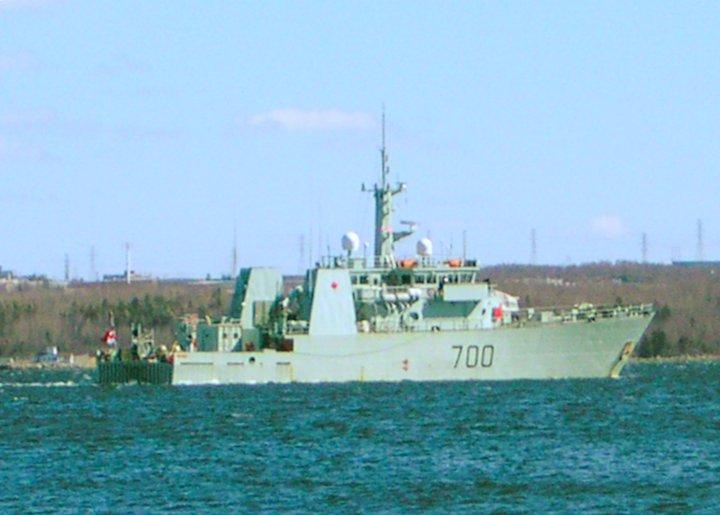 HMCS Kingston, at Halifax, Nova Scotia