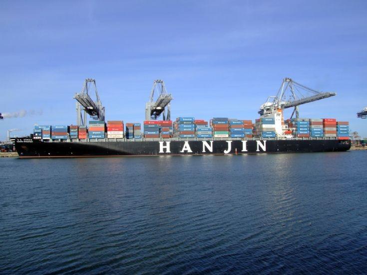 Contain ship Hanjin Budapest