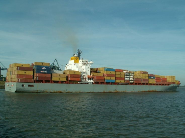 Container ship MSC Scandinavia