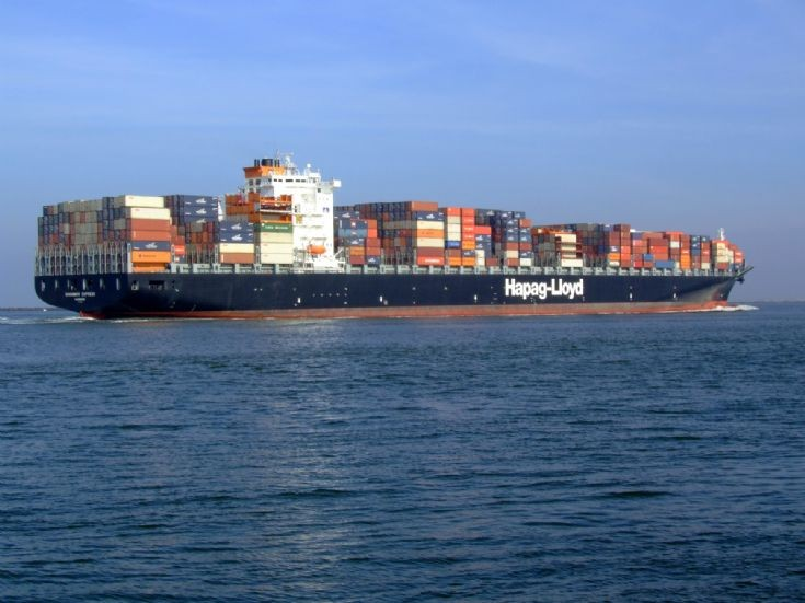 Container ship Savannah Express