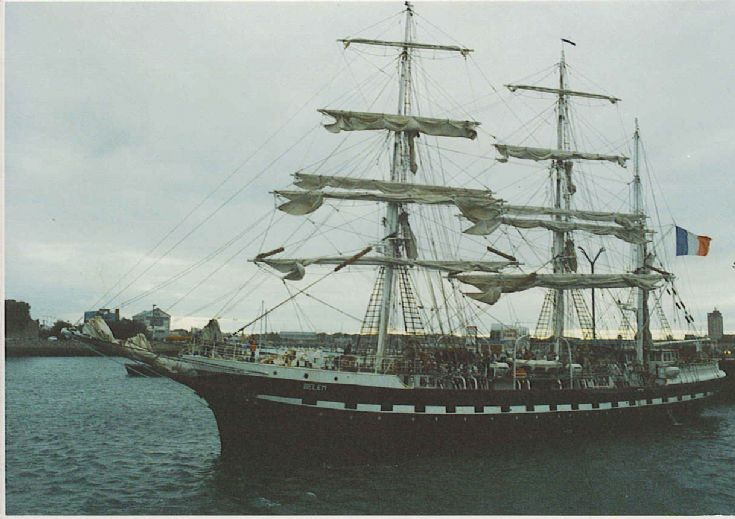three-masted barque Belem