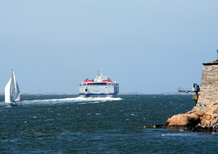 Stena Carisma departing Gothenburg