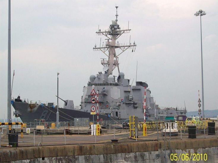 USS Winston S Churchill