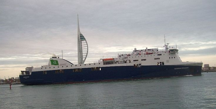 NORMAN VOYAGER at Portsmouth