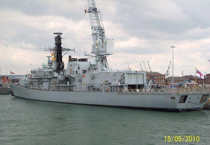 F78 HMS KENT