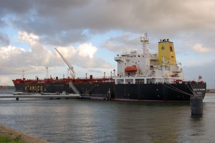 Tanker Cielo di Salerno in Zeebrugge