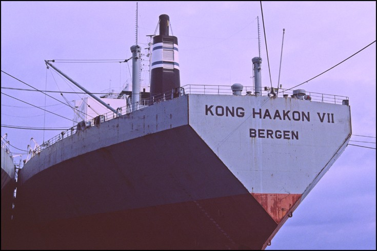 Bergen registered KONG HAAKON VII