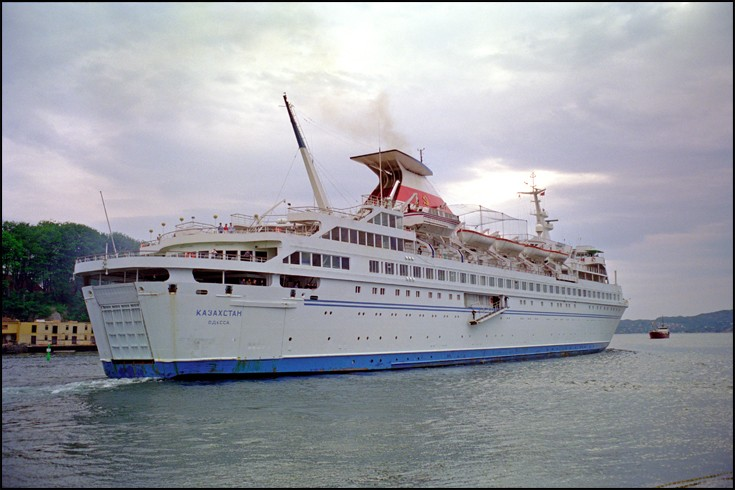 KAZAKHSTAN - Cruise ship