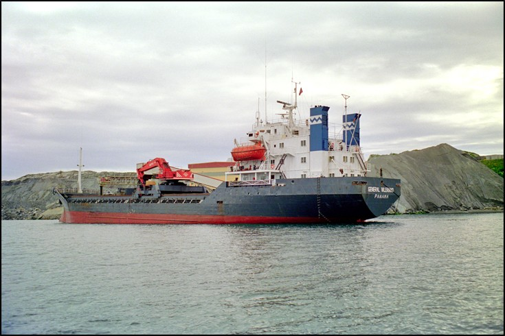 GENERAL VALERIANO - Selfdisch.Bulk carrier