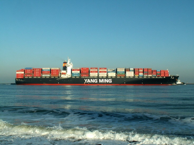 Container ship YM Green