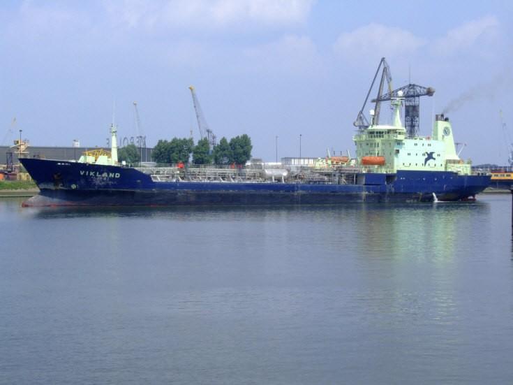 Scruffy looking tanker