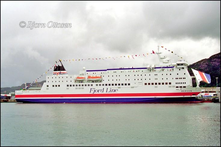 BERGEN - Pax - roro ferry
