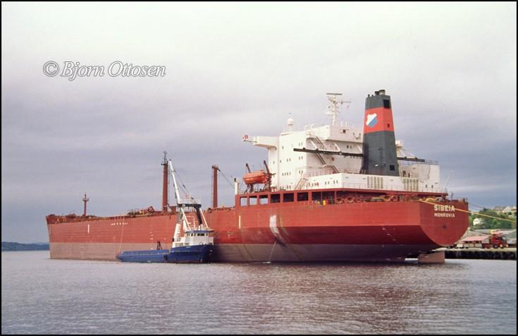 SIBEIA - Crude oil tanker