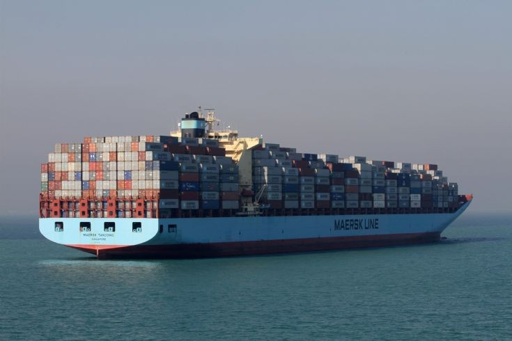 Container ship Maersk Tanjong