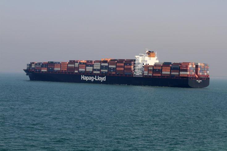 Container ship Osaka Express
