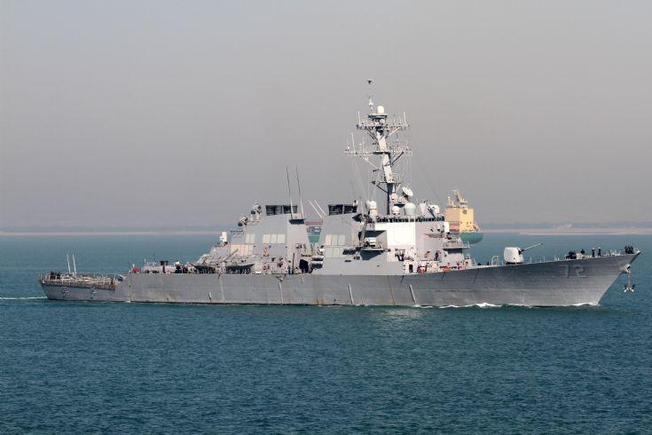 Destroyer MAHAN in Suez Canal