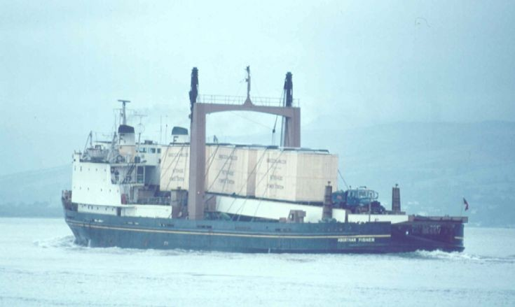 ABERTHAW FISHER outbound