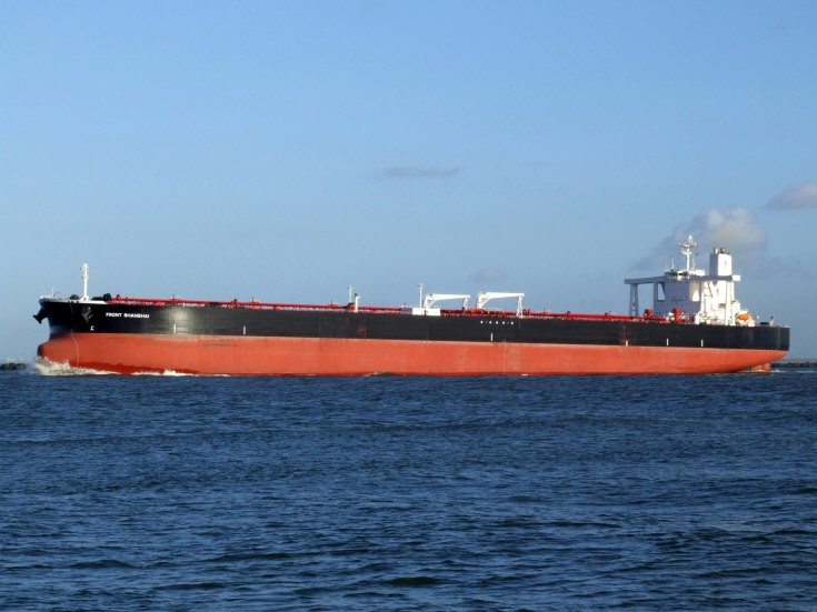 Photo of the tanker Front Shanghai