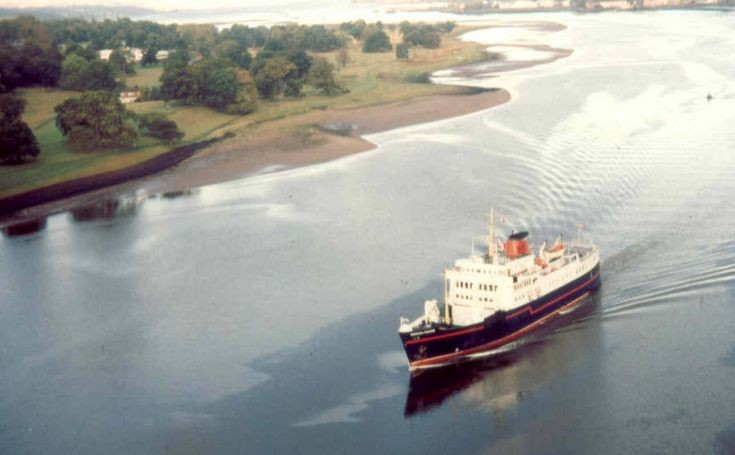 aerial photo of HEBRIDEAN PRINCESS