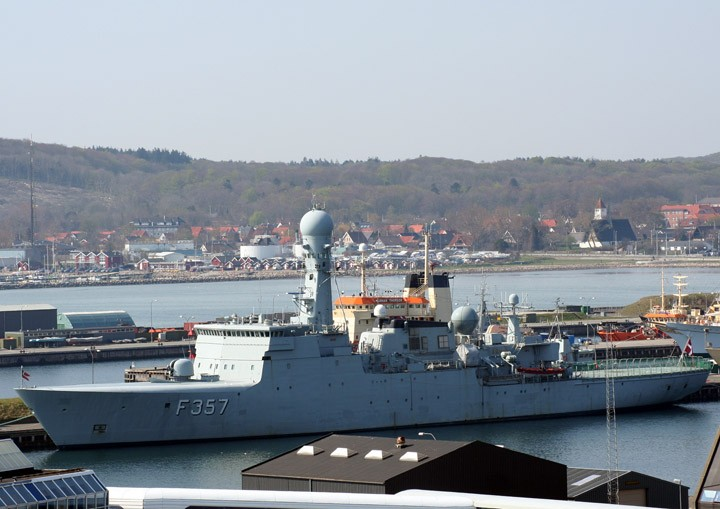 Photo of Thetis - Royal Danish Navy frigate F357